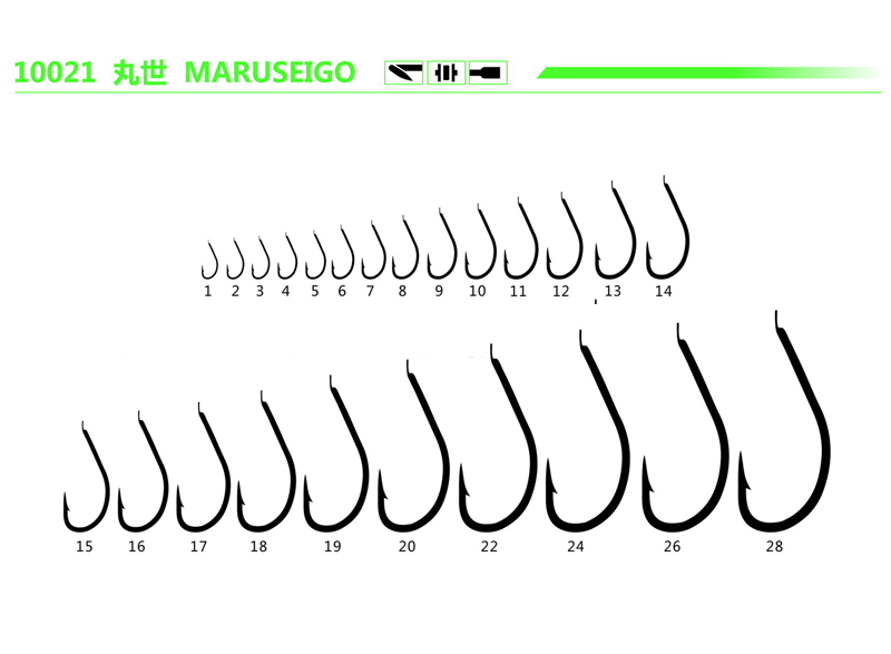 Bulk Packing Fishing Bait Hooks High Strength Carbon Steel Hook
