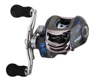 with Aluminum Alloy Line Cup Carbon Fiber Drag Baitcaster Reels