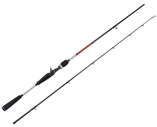 6' (1.98m) 2-section Heavy Power Casting Carbon Fishing Rod