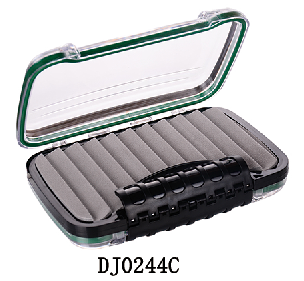Super Slim Plastic Transparent Fly Fishing Box