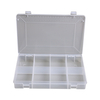 Transparent Plastic Mesh Container Receiver Box