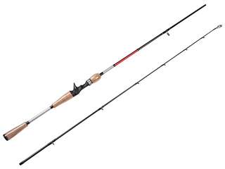 6'6''(1.98m) Baitcasting Fishing Rod 2 Sections Carbon Fishing Rod