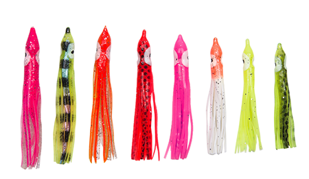 12cm Octopus Squid Skirt Soft Lures Bait