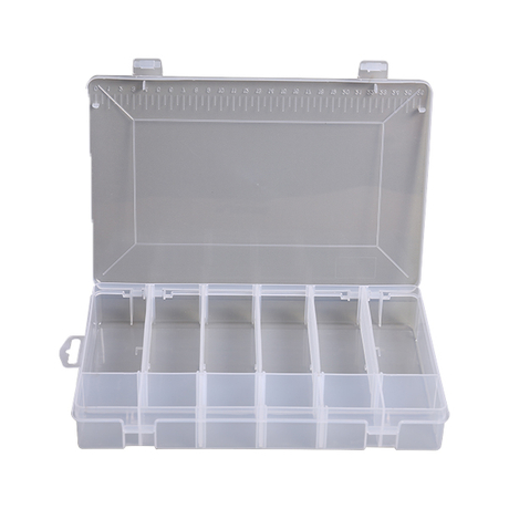 The Storage Box Adjusts The Transparent Plastic Housing Process Storage Box