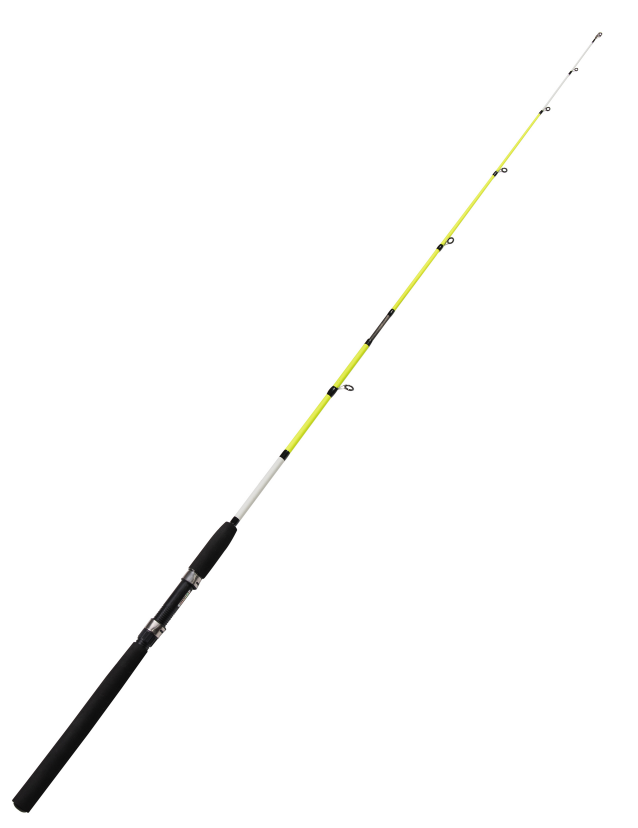Light Green Saltwater Fiber Glass Fishing Rod