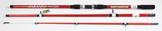 Surfcasting Fishing Rod 3.30m 150-300GM on 3 Sections Sea Fishing