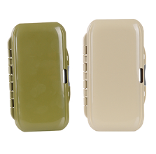 Plastic Transparent Fly Fishing Box Magnetic Foam Design Inserted Into Fly Fishing Box