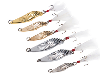 Chrome Metal Spoon Great for Trout, Panfish and Bass