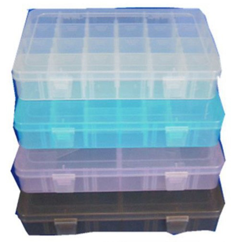 Jewelry Boxes 16 Grid Organizer Compartment Box