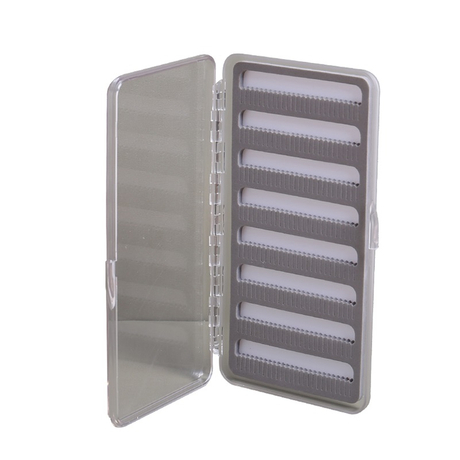 Fly Fishing Box Plastic Waterproof Double-Sided